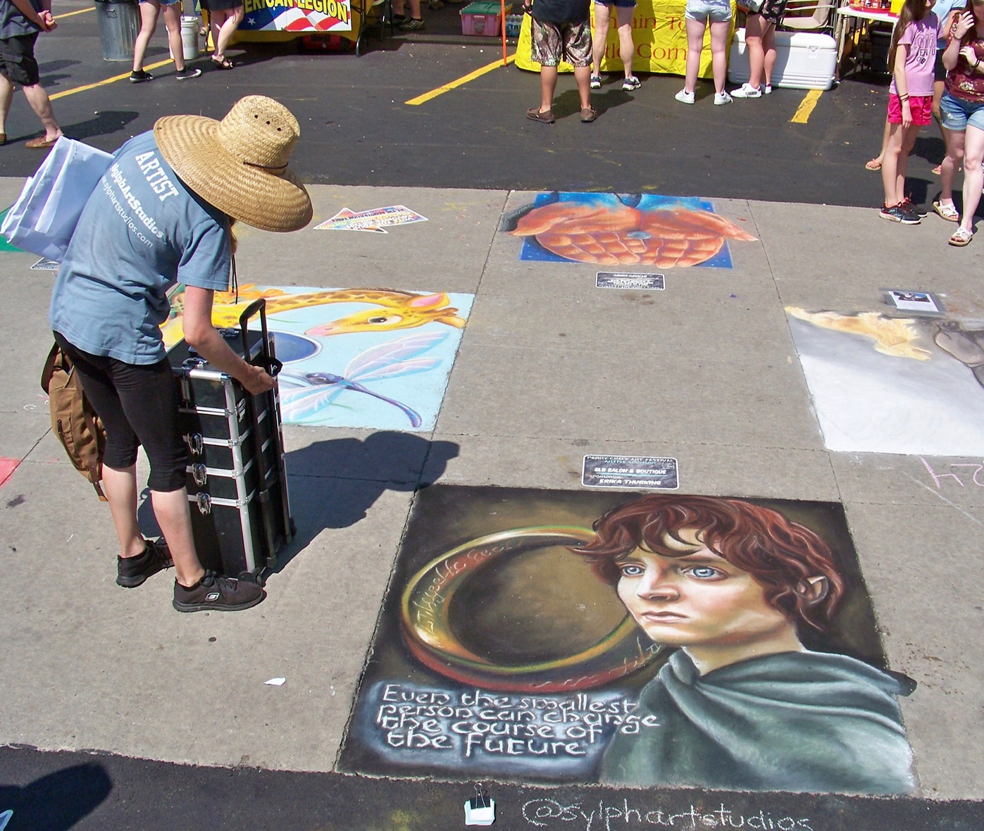 Chalk Art Festival And Taste Of Summer