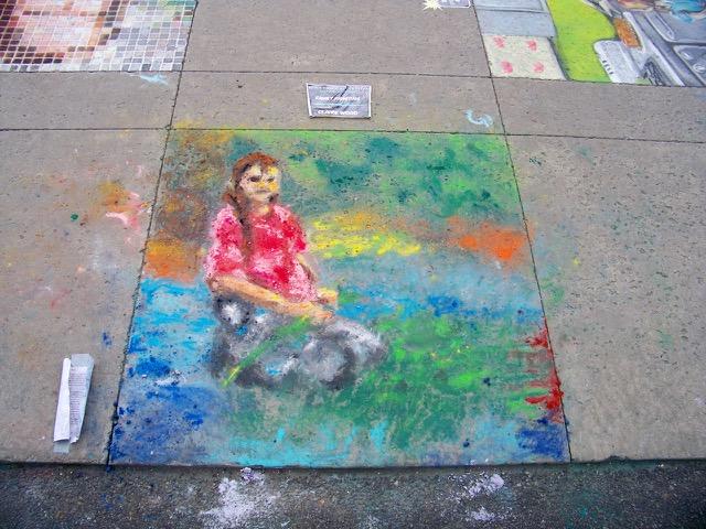 Chalk Art Festival and Taste of Summer